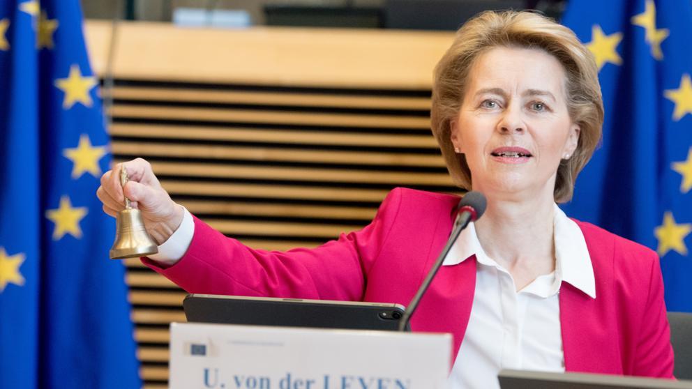 Урсула фон дер Лайен удари звънеца за европейския възстановителен план, но още е рано да се каже какво от него ще се сбъдне. Снимка: Europa Press