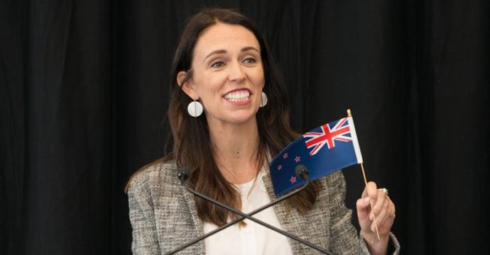 Министър-председателят на Нова Зеландия Джасинда Ардерн. Снимка: Wikimedia Commons