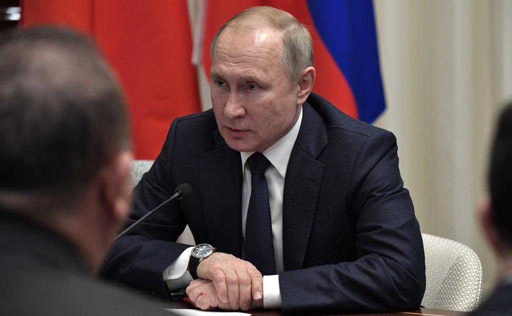 Владимир Путин, президент на Руската федерация. Снимка: kremlin.ru