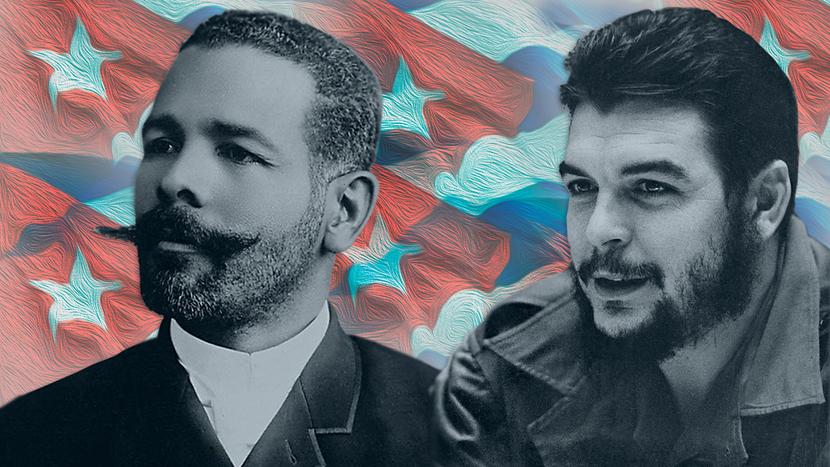 Антонио Масео (вляво) и Ернесто Че Гевара са родени на един и същи ден с разлика от 83 години и саносили сходен интернационален заряд в идеите и съдбите си. Снимка: Presidencia Cuba