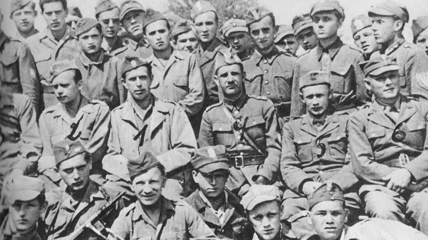 Бойци от Швиентокжиската бригада