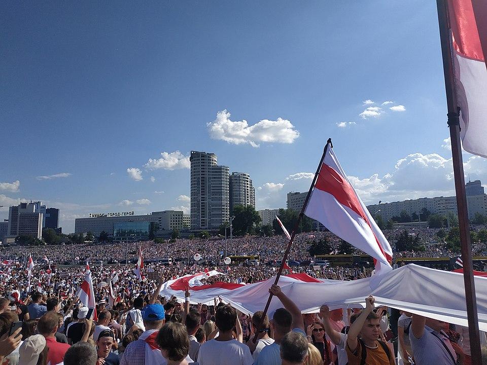Протестите срещу Лукашенко се превърнаха в най-многолюдните в постсъветската история на Беларус. Снимка: Wikimedia Commons