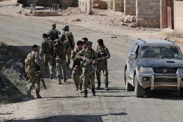 Ислямистктие милиции под крилото на Турция върлуват в окупираните територии. Снимка: Ройтерс.