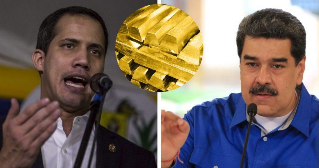 Докато тече поисканото от съда разследване кой де юре и де факто е признатата от Лондон власт в Каракас, венесуелското злато остава в Bank of Emgland. Снимка: contrapunto.com