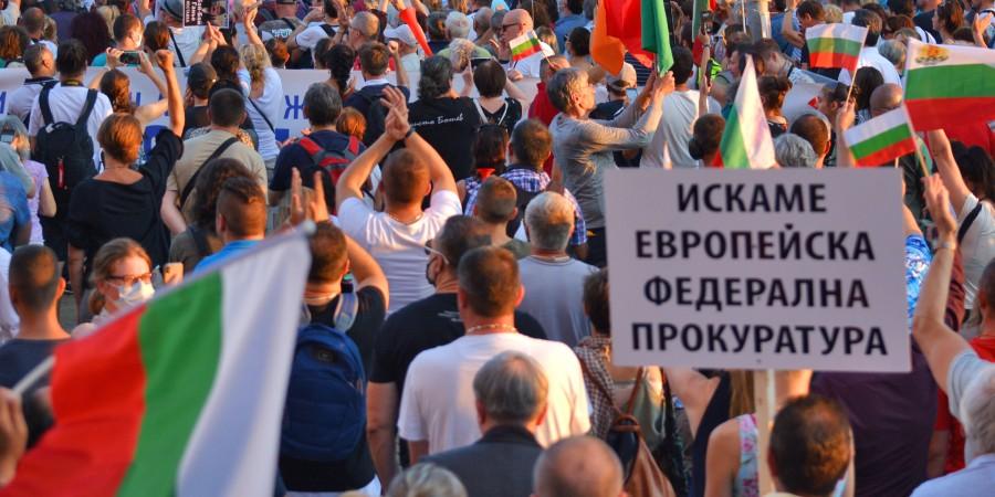 Призивите за намеса на европейска прокуратура в България са свързани с митологизирането на Лаура Кьовеши като главен прокурор, овластяващ средната класа в Румъния (снимка: Николай Драганов)