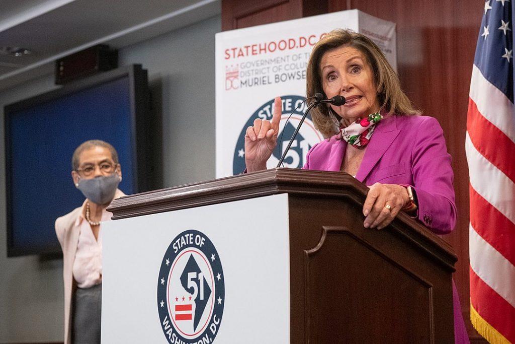 Хора като Нанси Пелоси няма как даа са част от решението, след като очевидно са в корена на проблема. Снимка: Wikimedia Commons