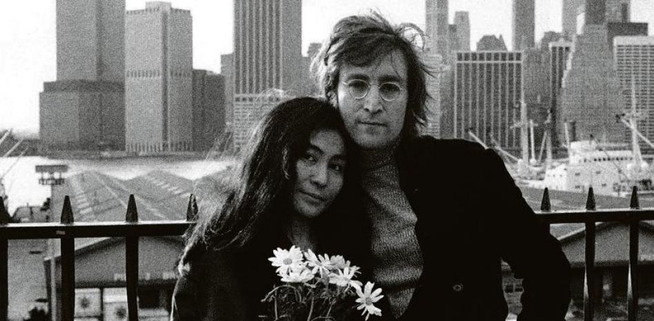 Джон Ленън и Йоко Оно в Ню Йорк. Снимка: EFE