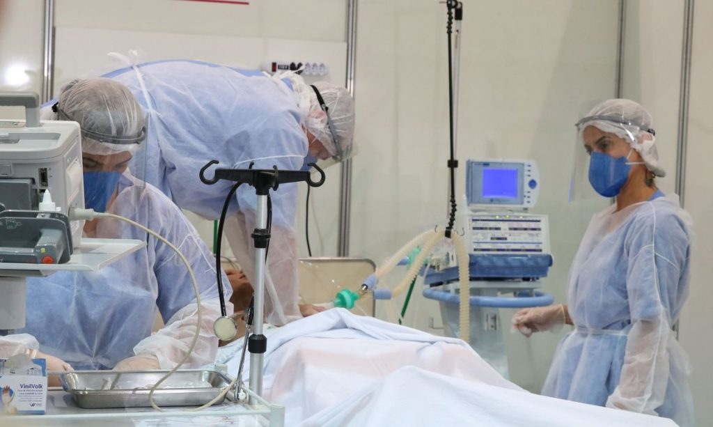 Новият препарат ще е особено важен за медиците и хората в пряк контакт с болни от Covid-19. Снимка: agenciabrasil.ebc.com.br