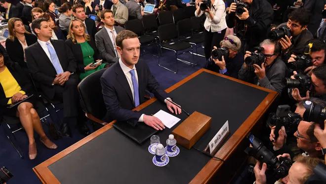Марк Зукърбърг бе привикван да дава обясненяи пред Конгреса, но това не доведе до ограничаване на властта на интернет монополистите