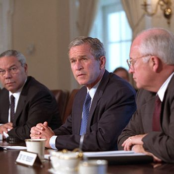 Буш, Чейни и Пауъл