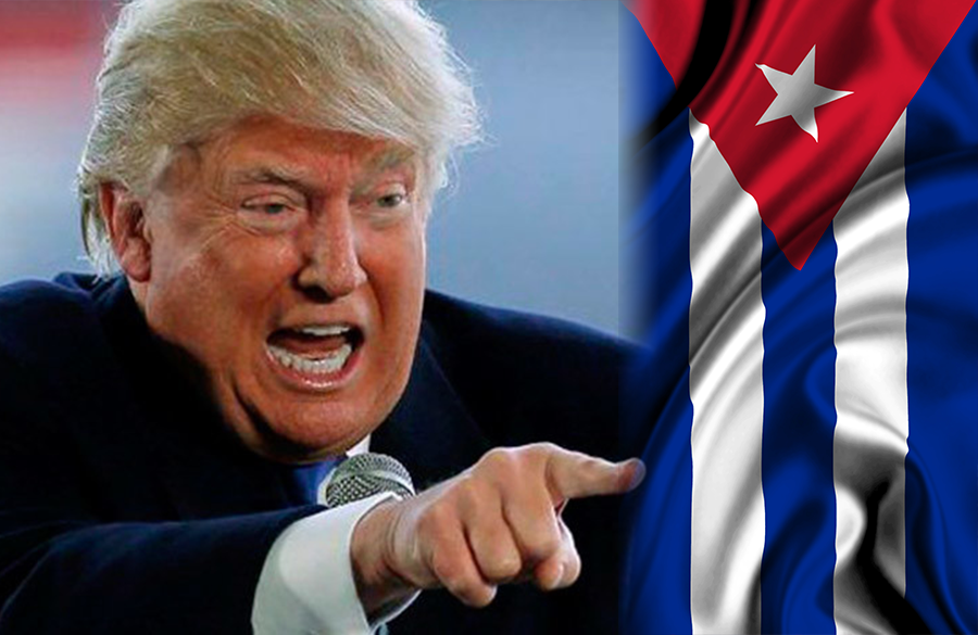 Обсесията на Тръмп да бие по Куба не го пуска и в последните му дни на власт. Снимка: judith-teichman.com