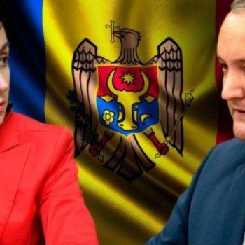 Майя Санду и Игор Додон. Снимка: pravda.cpm.ua