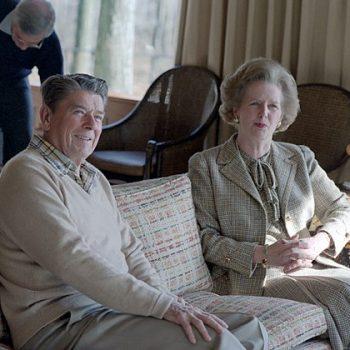 Маргарет Тачър и Роналд Рейгън, Wikimedia Commons