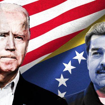 Джо Байдън даде знак, че ще продължи досегашната политика на САЩ спрямо Венесуела и нейния лидер Николас Мадуро. Илюстрация: univision.com