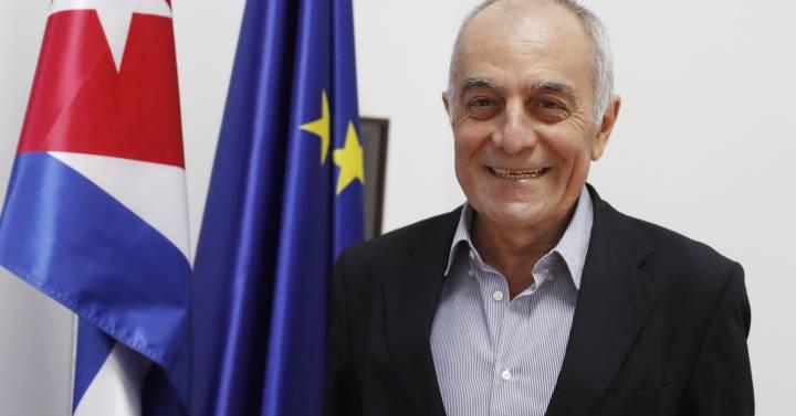 Алберто Наваро, посланик на ЕС в Куба. Снимка: diariodecuba.com