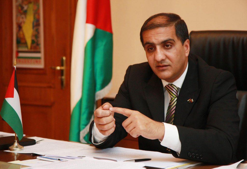 Н. Пр. Ахмед Ал-Мадбух, посланик на Държавата Палестина в Република България, доайен да дипломатическия корпус у нас.
