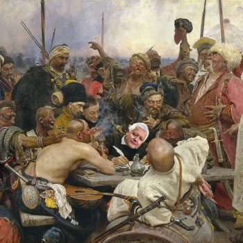 С Недялко Недалков като главен писар, писмото на увековечените от Репин запорожци няма да е до турския султан, а до другарката Херо Мустафа,