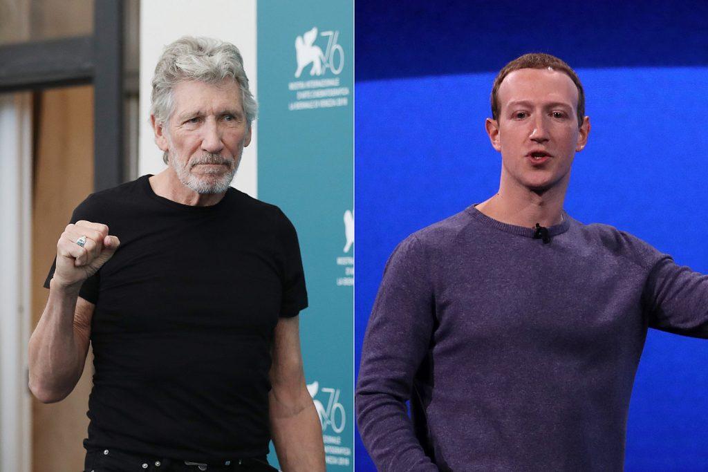Роджър Уотърс (вляво) избухна срещу Марк Зукърбърг. Снимка: loudwire.com