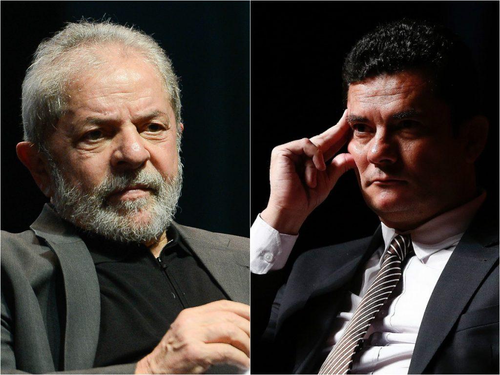 Инасио Лула да Силва (вляво) и Сержио Моро. Снимка: farodiroma.it