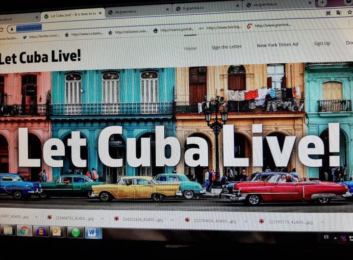 """Кампанията """"Нека Куба живее!"""" се разгръща на сайта www.letcubalive.com"""