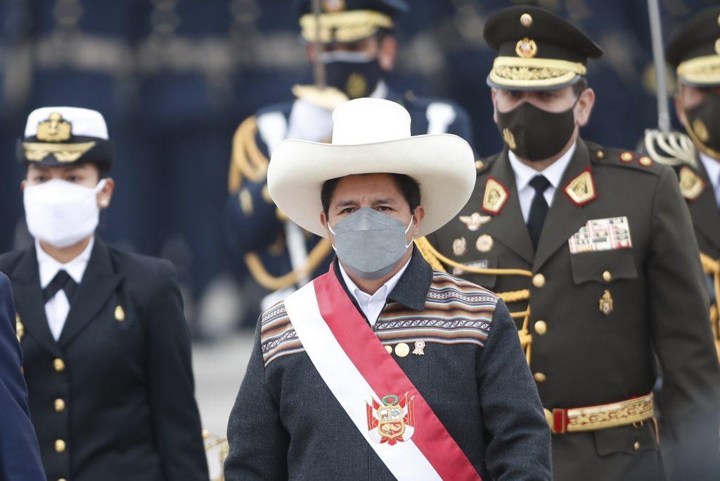 """Движенията """"АЛБА"""" алармират, че президентът Педро Кастийо се превръща в заложник на пълзящ преврат срещу него. Снимка: EFE"""