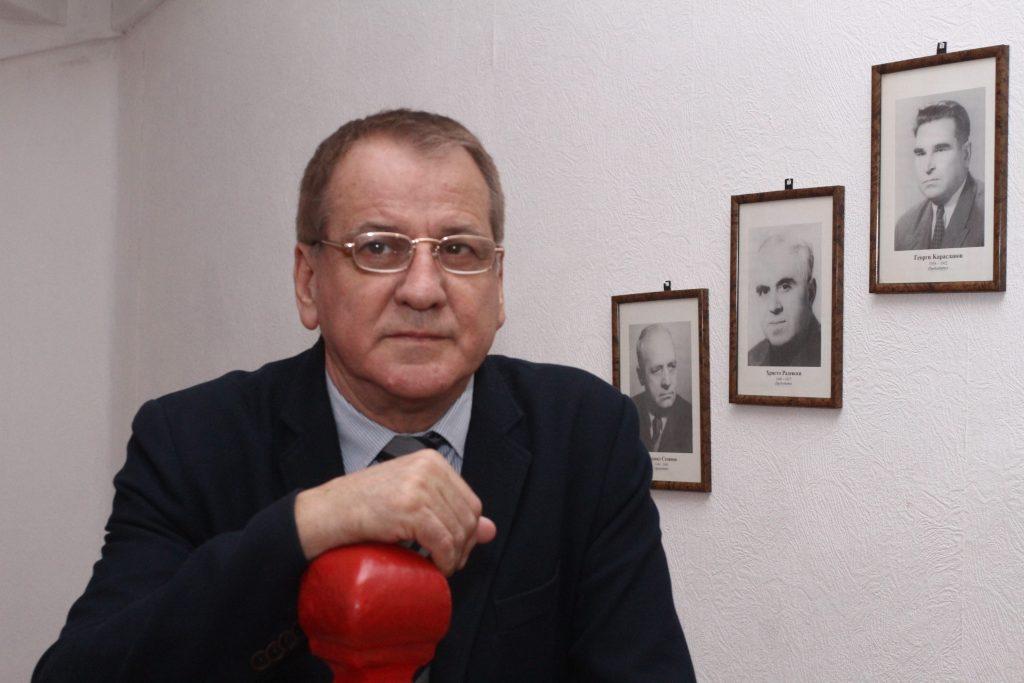 "Боян Ангелов. Снимка: в. ""Дума"""