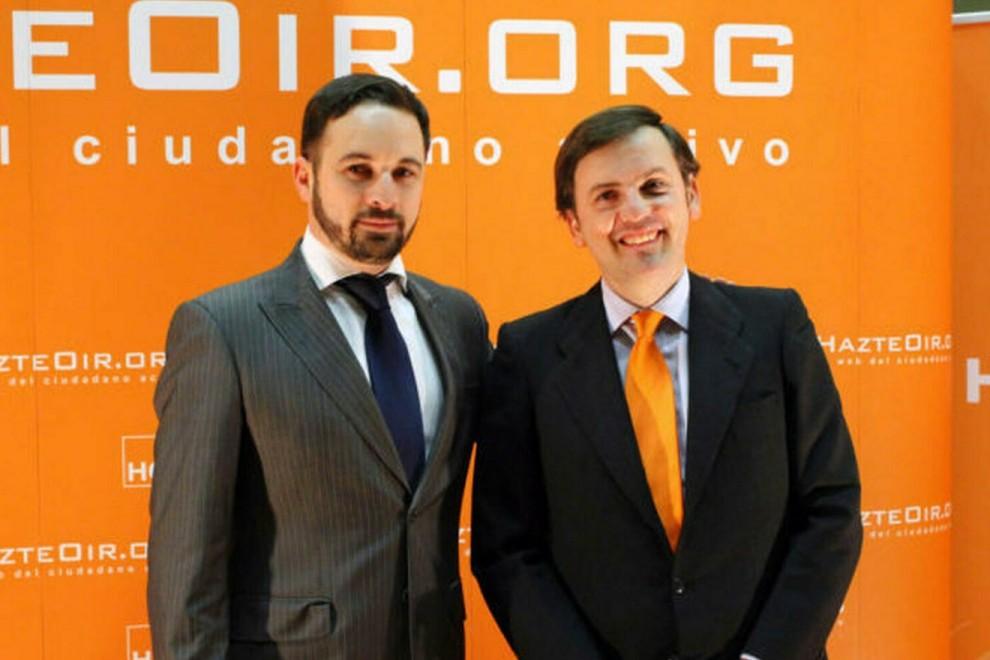 Сантяго Абаскал (вляво) и Игнасио Арсуага Рато през 2012 г. Снимка: publico.es