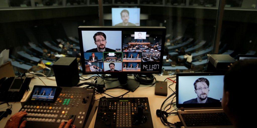 """Едуард Сноудън настоя да се забрани """"Пегас""""  шпионските системи. Снимка: thewire.in"""