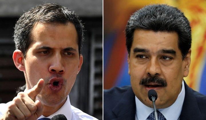 Фиаското на авантюрата с Хуан Гуайдо (вляво) сега кара дори радикалите от венесуелската опозиция да търсят диалог с правителството на президента Николас Мадуро. Снимка: infobae.com