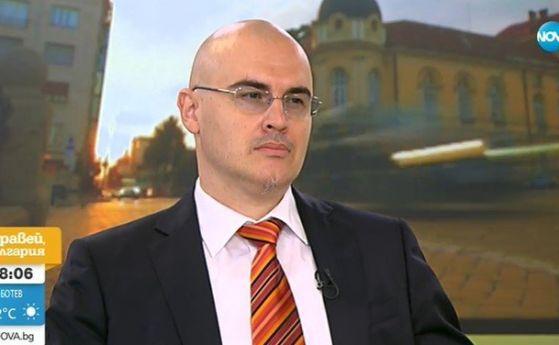 Петър Илиев по време на скандалното си интервю пред Нова телевизия