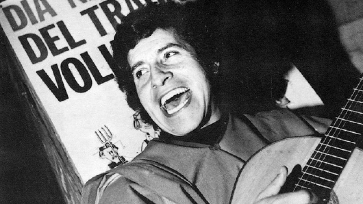Виктор Хара остава любимият певец на Чили. роден е на 28 септември 1932 г., а е убит на 16 септември 1973 г. Снимка: Fundacion Victor Jara