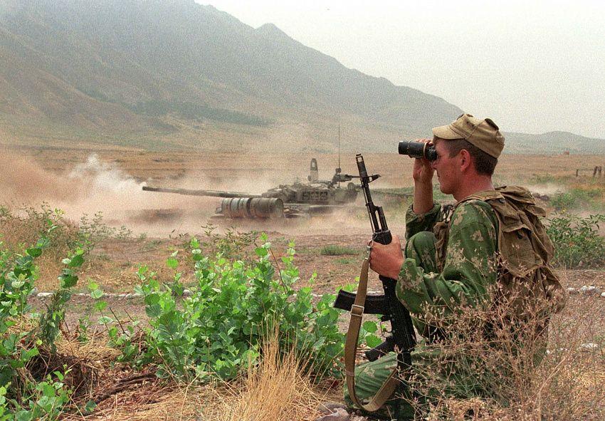 Учения с участието на Русия край границата на Таджикистан и Афганистан имаше и в началото на август. Снимка: pamirdaily.com