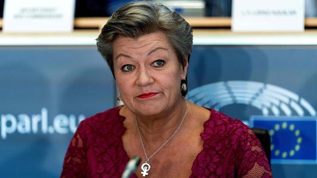 Илва Йохансон, еврокомисарка по вътрешните работи. Снимка: tellerreport.com