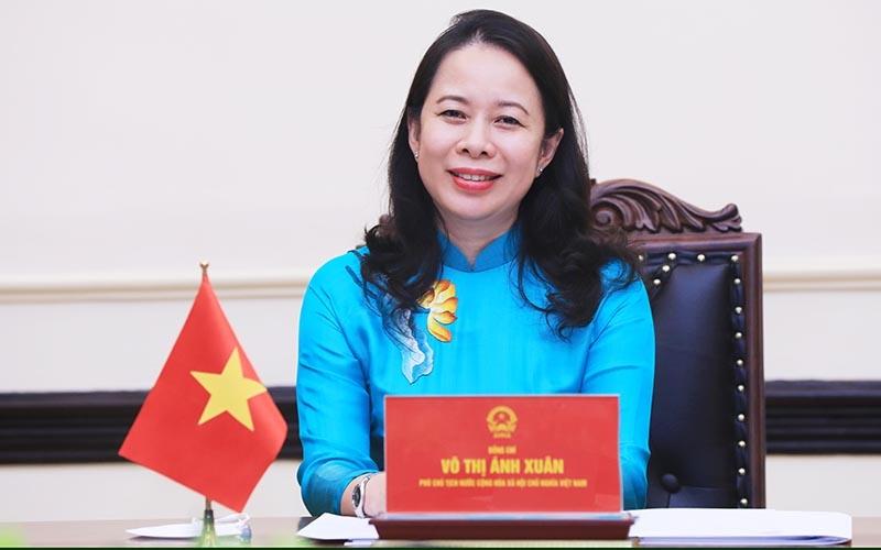 Вицепрезидентката на Социалистическа република Виетнам г.жа Во Тхи Ан Шуан. Снимка: en.nhandan.vn