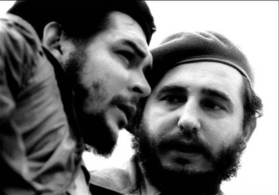 Ернесто Че Гевара и Фидел Кастро. Снимка: granma.cu