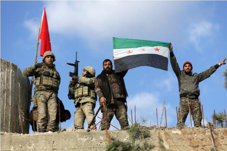 Турските сили и сирийските им проксита се опитват да заличат кюрдите от Африн.