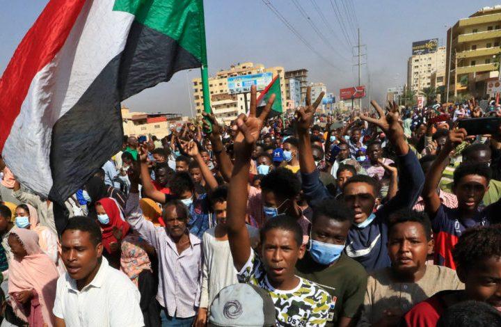 По улиците на Хартум на 25 октомври. Снимка: ecupunto.com