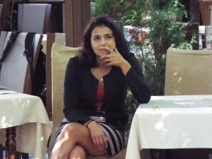"""Ваня Григорова представя """"Пътеводител за защита на работното място"""" в гр. Гоце Делчев"""